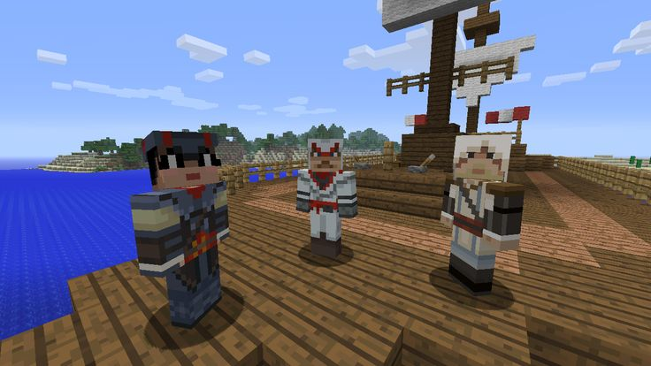 Skin Pack 5 - Assassin's Creed