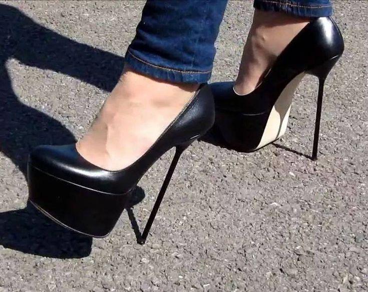 Apologise, but, stockings extreme heels