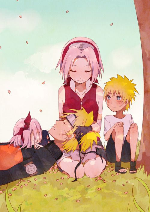 Kid: naruto and sakura   My obsession for anime comes to ...