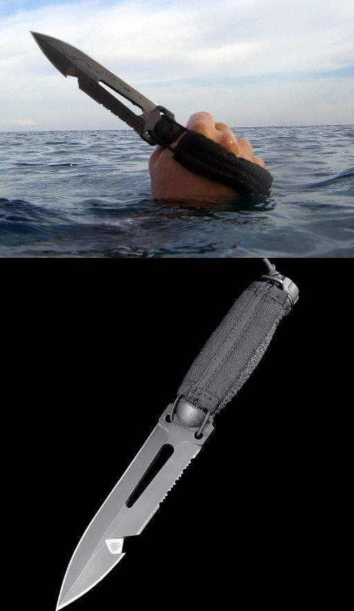 Extrema Ratio Ultramarine Multipurpose Fixed Dive Knife Blade