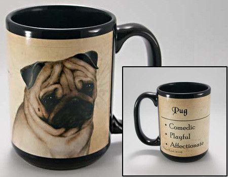 Fidèle Race Amis de chien de roquet Tasse de café