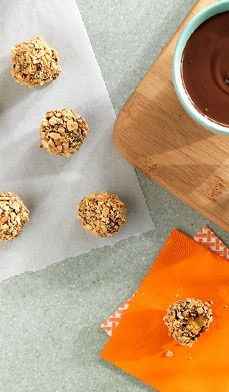 Biscuits à la citrouille et au beurre d'arachides sans cuisson