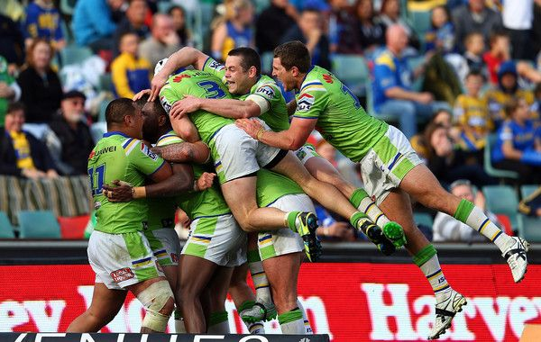 2015 NRL Rd 26 - Eels v Canberra Raiders win in golden point