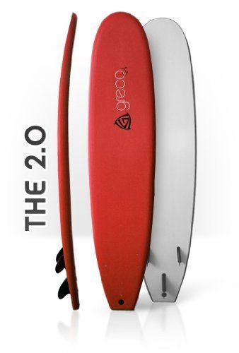 8' Performance Soft Top Foamboard Long Surfboard Foam Surfboard Longboard Funboard