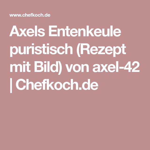 Axels Entenkeule puristisch (Rezept mit Bild) von axel-42 | Chefkoch.de