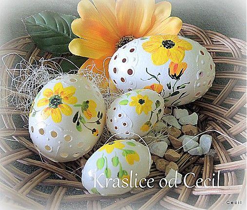 Sada žltých kraslíc by Cecil - SAShE.sk - Handmade Veľká Noc