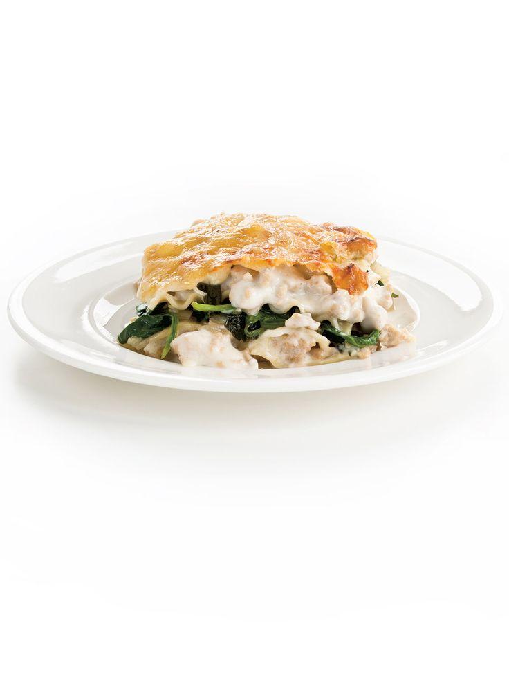Recette de Ricardo de lasagne au poulet réconfortante
