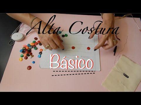 Alta Costura Clase 48, Ojales a máquina, Bottonholes Sewing machine Diy - YouTube