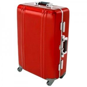 I borrowed a friend's Halliburton suitcase. If you don't mind the price....Best luggage ever.