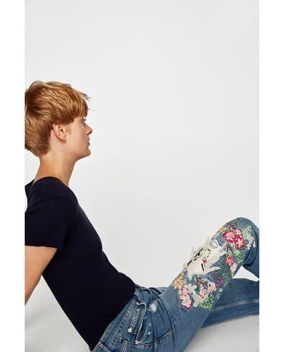 25 parasta ideaa pinterestiss moonflower kukkapuutarha the slim boyfriend moonflower jeans view all jeans woman sale zara stopboris Choice Image