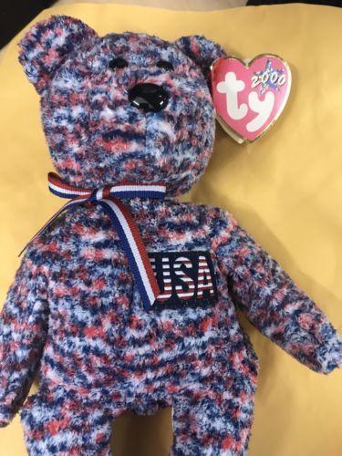 Rare Beanie Babies 2000 USA