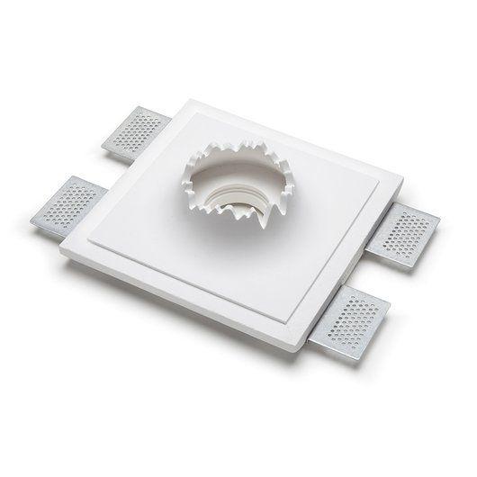 9010- 9010 Crateri 8919 Plaster In Ceiling Light
