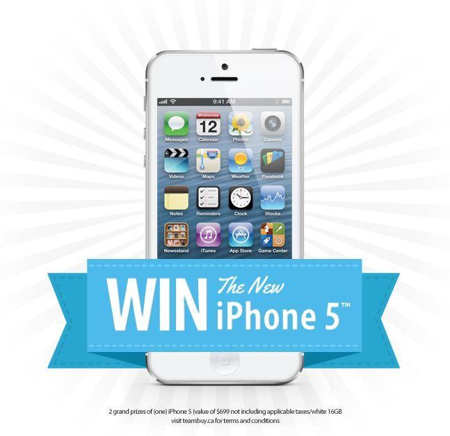 gratis iPhone 5S te winnen