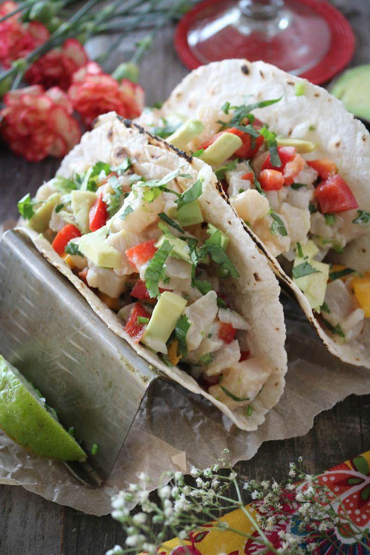 Mahi mahi mango ceviche tacos recipe mahi mahi tacos for Mahi mahi fish tacos recipe