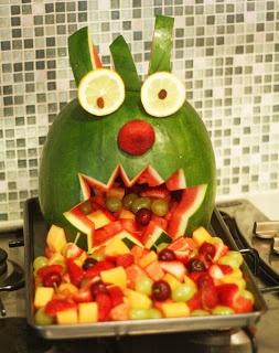 Polkadot Lane: Making of a Watermelon Monster