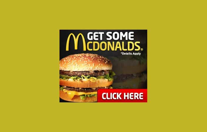 Users can signup for this easy one page email submit and get a complimentary McDonalds prepaid visa gift card!