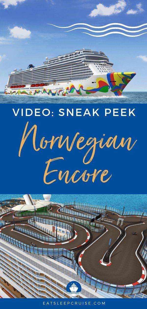 Norwegian Encore Cruise Ship Reveal Get A Sneak Peek At