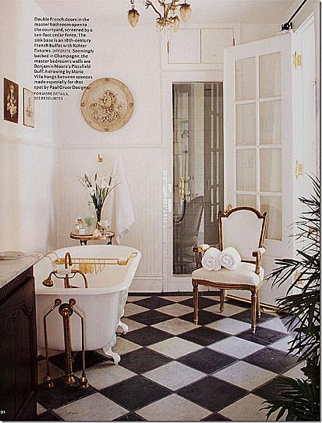 #bathroom #blackandwhite