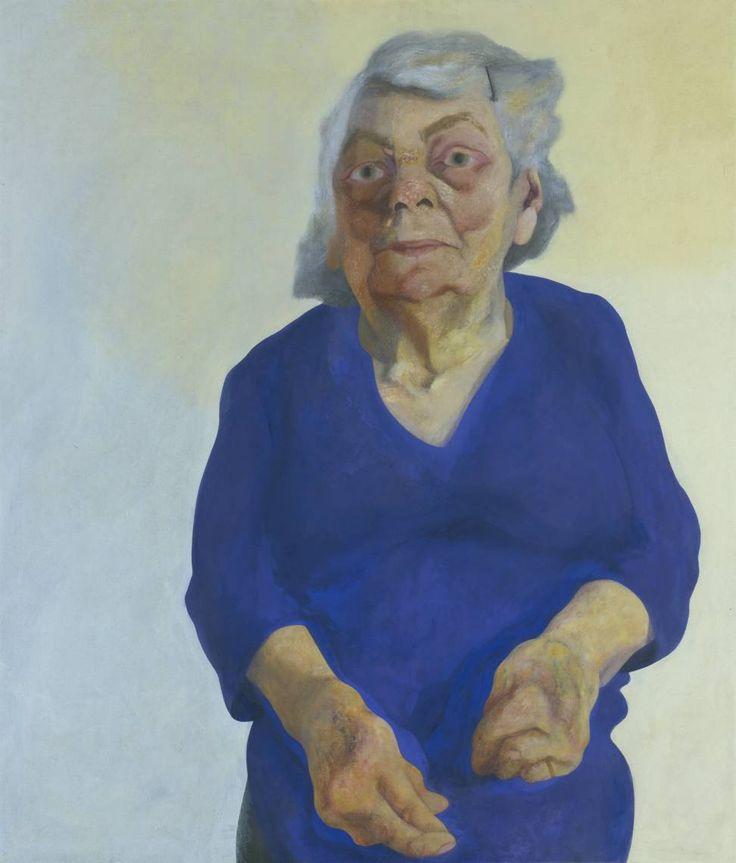 Maggi Hambling 'Portrait of Frances Rose', 1973 © Maggi Hambling. All Rights Reserved 2010 / Bridgeman Art Library