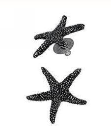 Orecchini a forma di stella marina | Giovanni Raspini  #orecchini #stelle #stella #stellamarina #estate #accessori #estate #summer