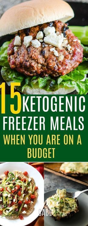 15 Keto Freezer Meals For When You're On a Budget