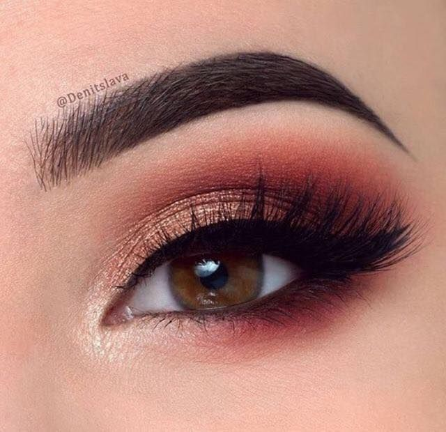 36-ideas-de-maquillaje-en-tonalidad-rojo (3) - Beauty and fashion ideas Fashion Trends, Latest Fashion Ideas and Style Tips
