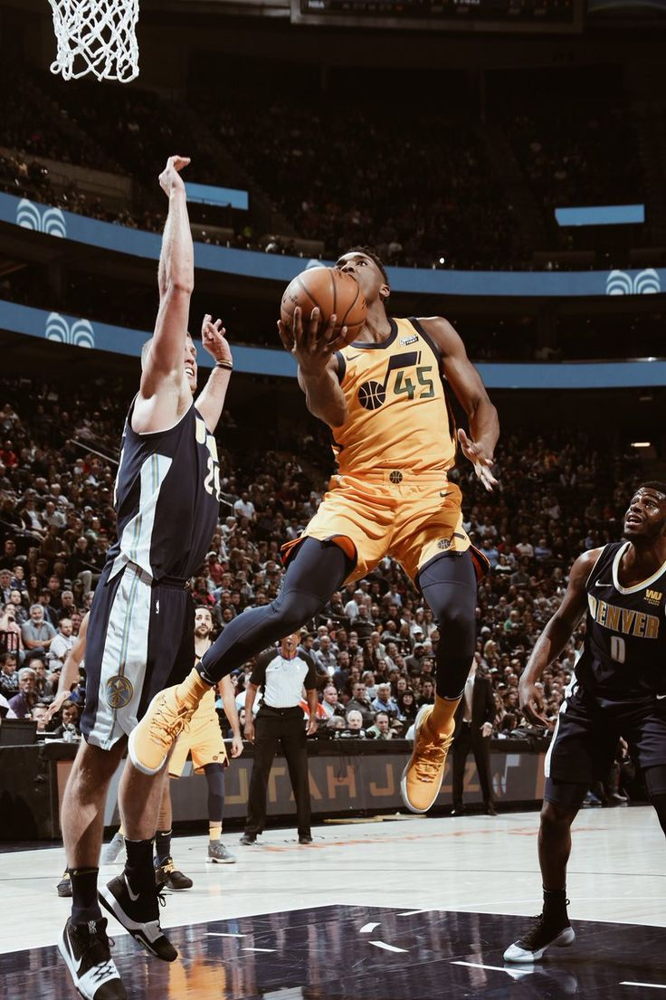 Donavan Mitchell, The Jazz's future.. in my opinion he is definitely going to be a superstar in the league. So explosive plus he has a jump shot as well.