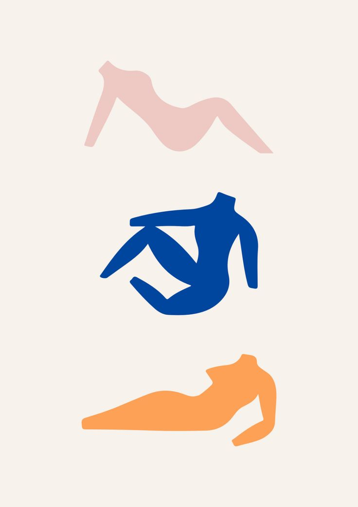 Decoupes Coutout Poster | Cutout Print, Woman Body, Female, Matisse Inspired | P…