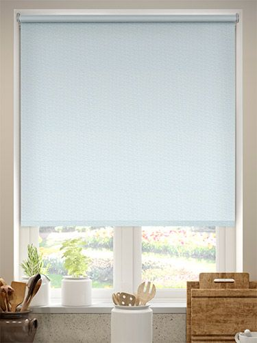 Here The Colour Of The Summer Sky Roller Blind Is Light