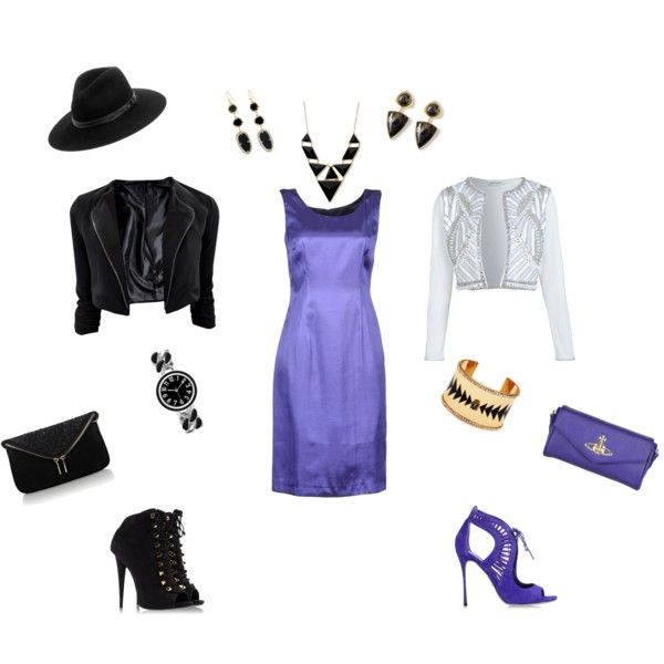 """""""That One Little dress 2 Looks"""" by line-leduc on Polyvore"""