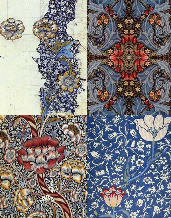 Best William Morris Images On Pinterest William Morris Art - Arts and crafts fabric patterns
