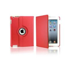 iPad Rotatable Case in Red