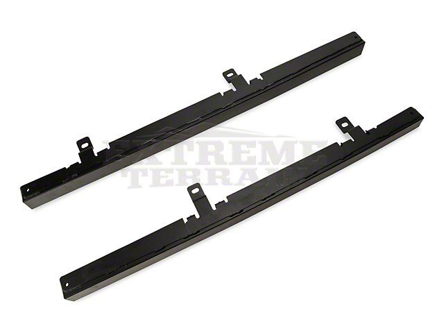 Barricade 2-Door Wrangler Rubi Rails - Textured Black J100744 (07-17 Wrangler JK 2 Door) - Free Shipping