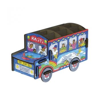 Werkhaus Shop - Stiftebox - Haiti Schoolbus