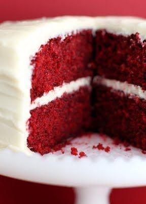 Inspiración red: cake