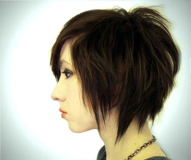 Небрежный боб на короткие волосы ::: onelady.ru ::: #hair #hairs #hairstyle #hairstyles