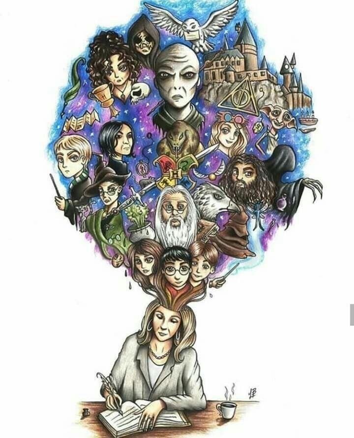 J K Rowling Harry Potter Anime De Harry Potter Arte De Harry Potter Fotos De Harry Potter