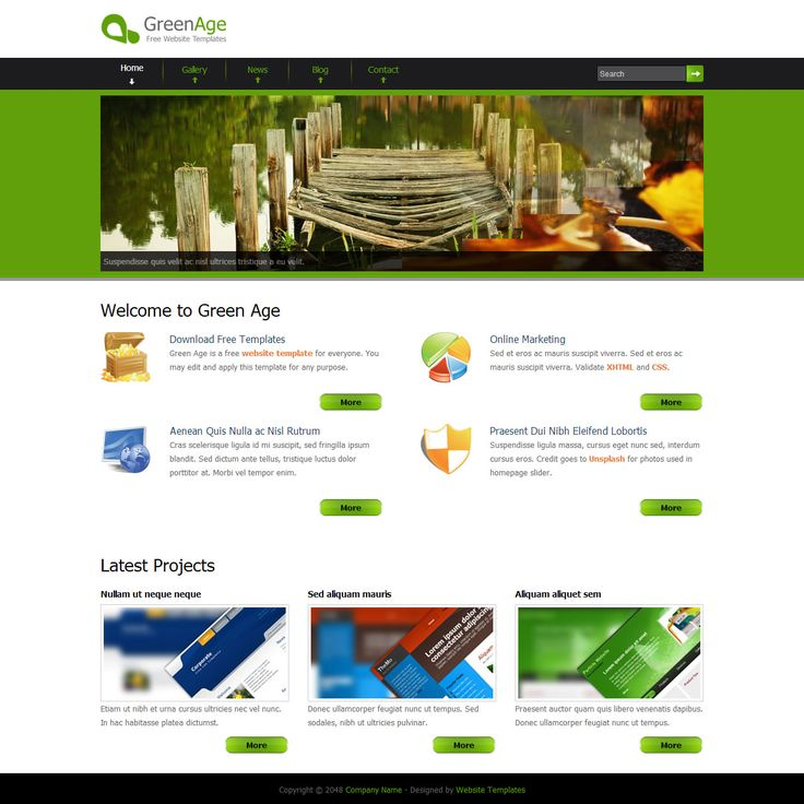 Matio13 | Green Age Free HTML Template | http://www.matio13.com