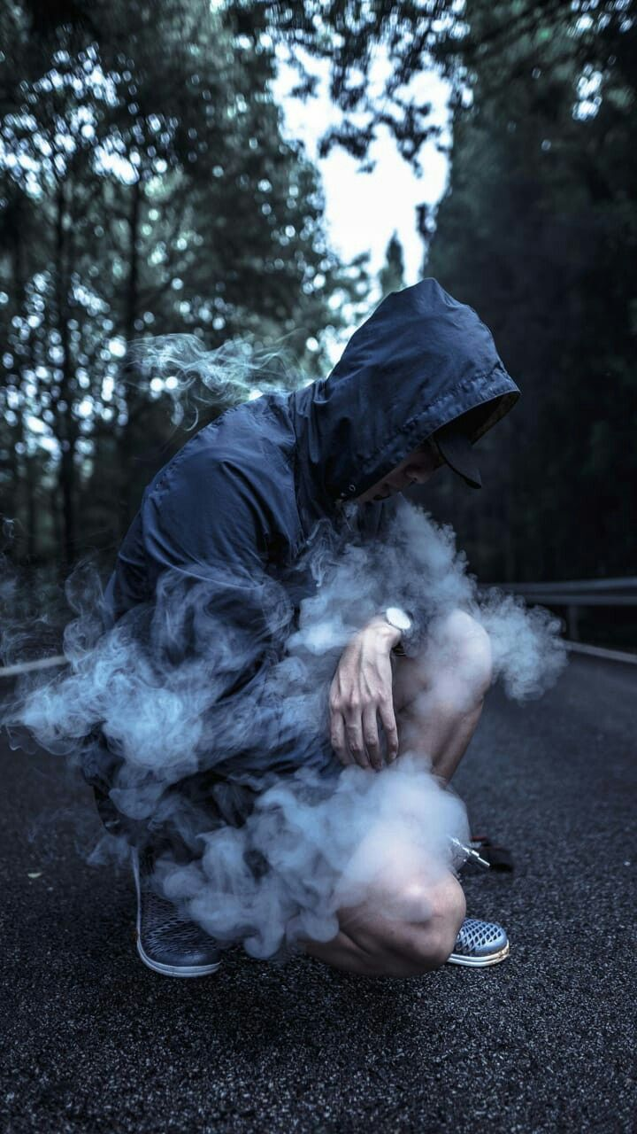 как сделать фото похожим на дым было