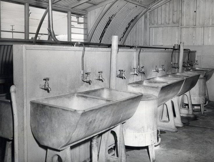 Gepps Cross Hostel communal laundry, c.1950 SA