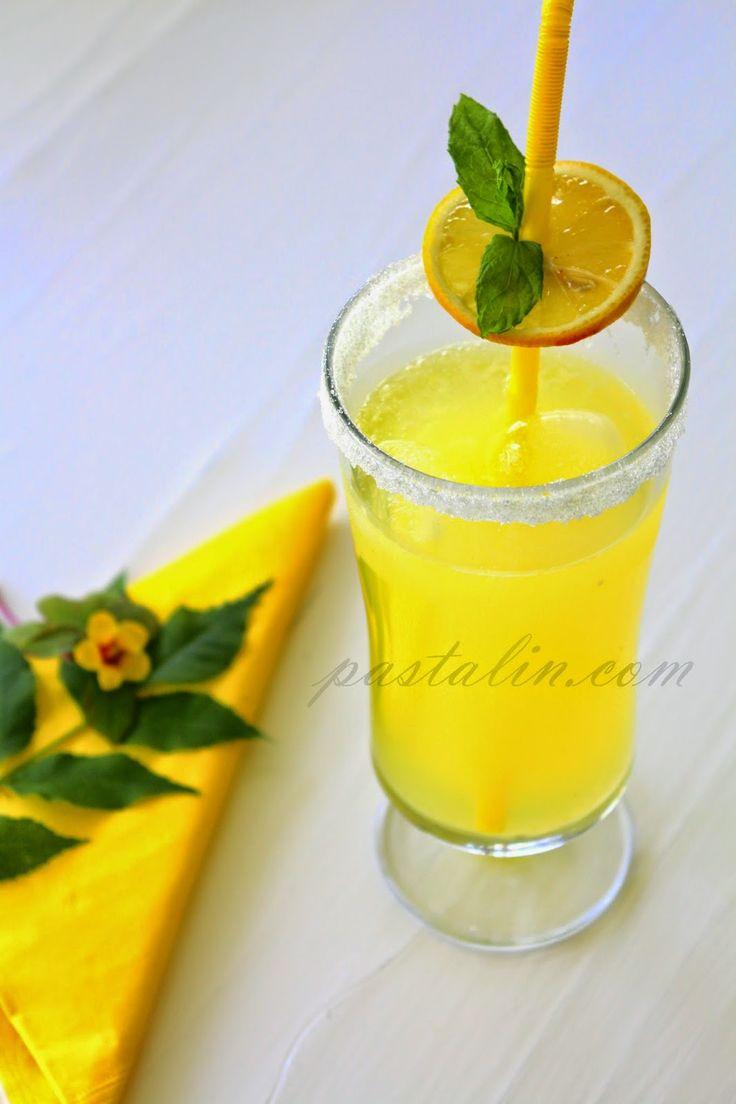 PASTALİN...: Ev Yapımı Limonata (Sarı Kız :)