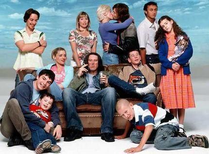Shameless UK series 1 - James McAvoy as Steve McBride (2004)