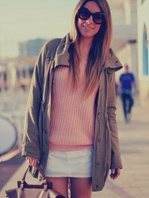 monicasors Outfit   Primavera 2012. Combinar Jersey Rosa suave/Rosa palo Sheinside, Cómo vestirse y combinar según monicasors el 25-4-2012