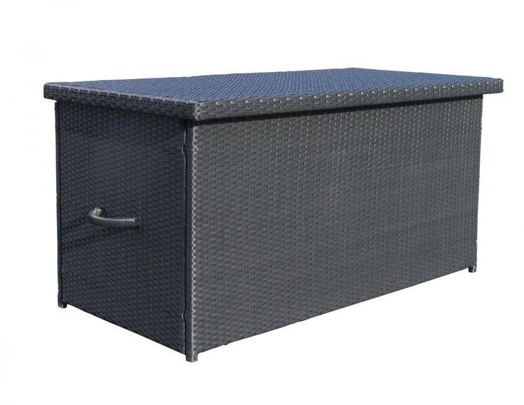 Grasekamp Rattan Kissenbox XXL Auflagenbox Gartenbox Truhe Lounge   Schwarz  Jetzt Bestellen Unter: Https://moebel.ladendirekt.de/garten/gartenmoebel/  ...