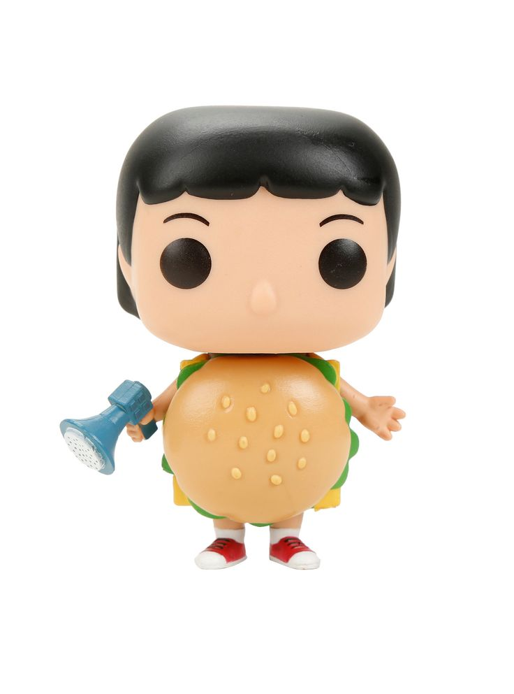 Funko Bob's Burgers Pop! Animation Burger Suit Gene Vinyl Figure Hot Topic Exclusive,