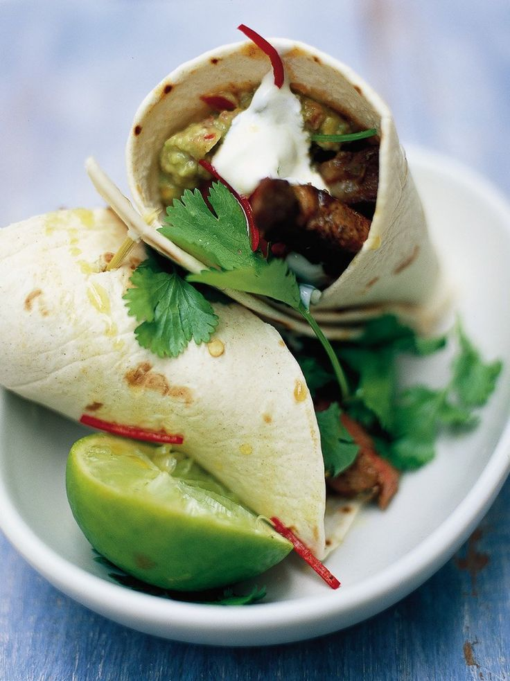Steak & Guacamole Wrap | Beef Recipes | Jamie Oliver Recipes