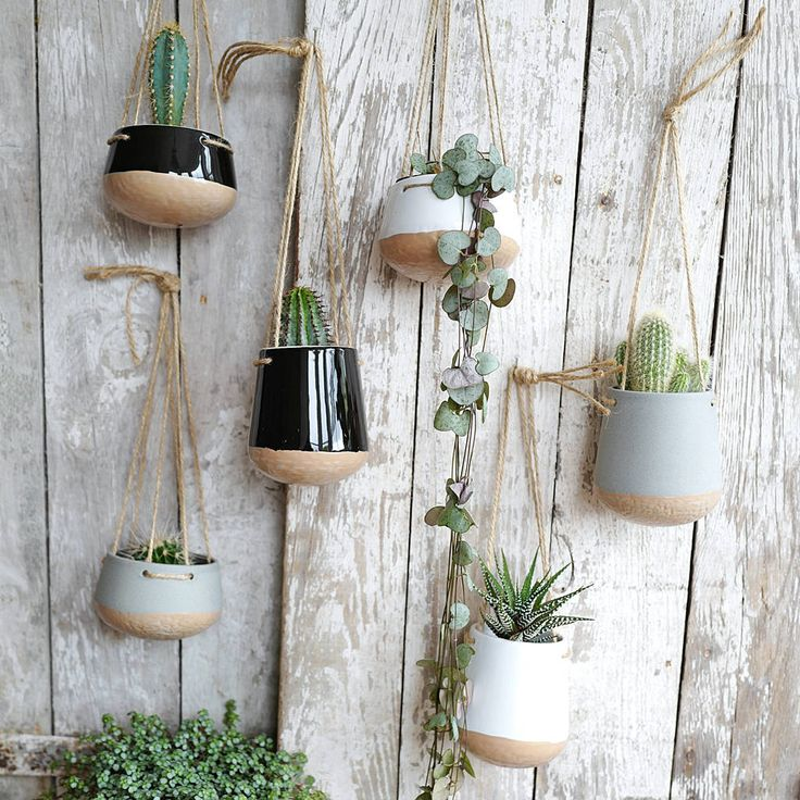 Are you interested in our ceramic hanging planter with jute string? With our houseplant hanging planter for home you need look no further.