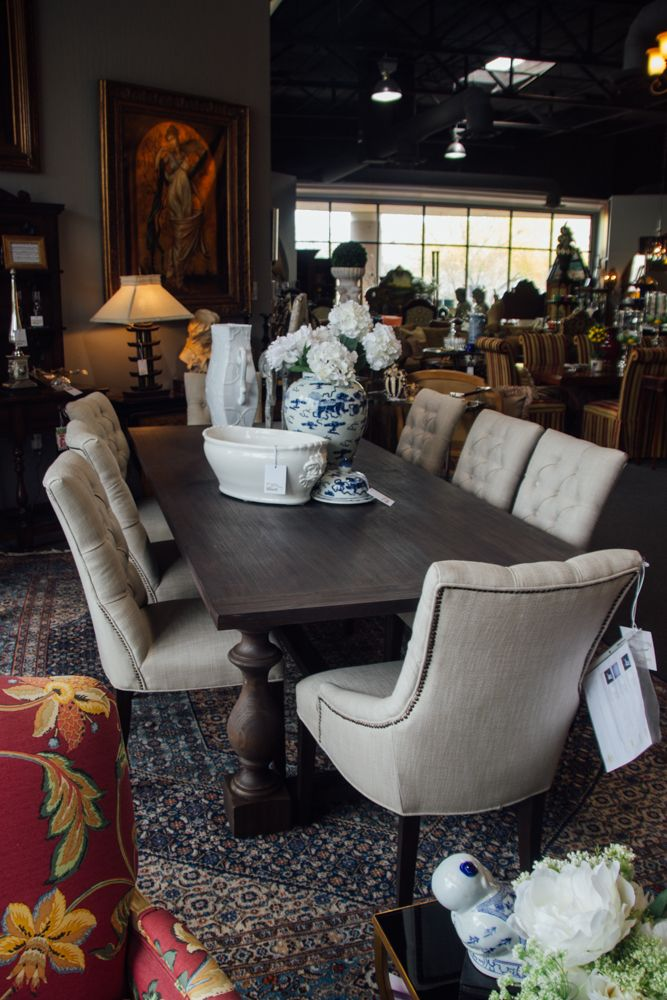 Modern dining table set found at Avery Lane in Scottsdale  Arizona. 345 best images about Consignment Furniture at Avery Lane