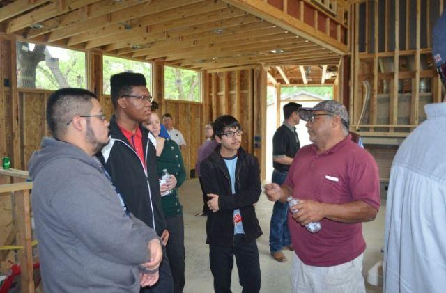 Dallas Builders Association Hosts Skyline High School Students   CandysDirt.com