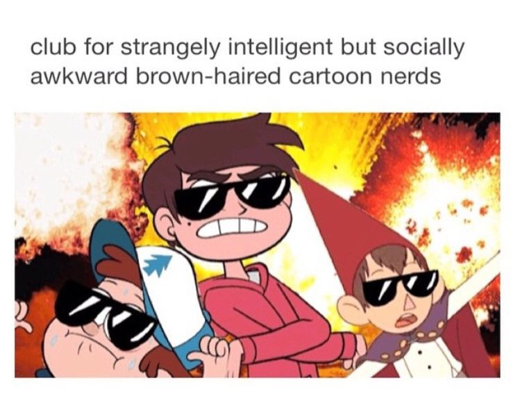 NOT TO MENTION THEYRE ATTRACTIVE [cough] what who said that not me I don't like Wirt or Marco or Dipper who ever assumed that.. Do you guys like chocolate
